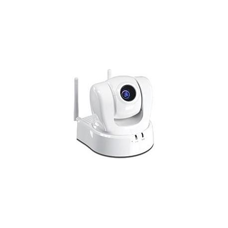 TRENDnet ProView Wireless N Pan Tilt Zoom Internet Camera. 10x optical zoom CCD sensor. TV-IP612WN