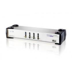 Aten CS1744 4-Port USB Dual-View KVMP Switch