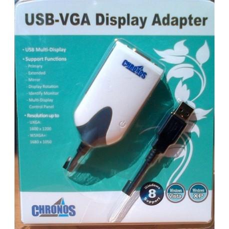 Chronos Usb 2.0 to VGA Display Adapter