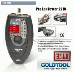 GOLDTOOL TCT2210 LAN wiring system universal testers