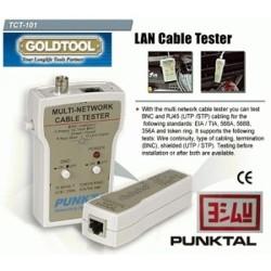 GoldTool Punktal TCT-101 LAN Cable Tester