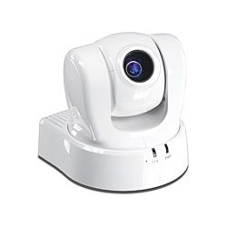 TRENDnet TV-IP612P ProView PoE Pan Tilt Zoom Internet Camera. 10x optical zoom CCD sensor.