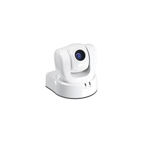 TRENDnet TV-IP612P ProView PoE Pan Tilt Zoom Internet Camera. 10x optical zoom CCD sensor.