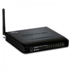 TRENDnet TEW-657BRM 150Mbps Wireless N ADSL 2-2 Modem Router