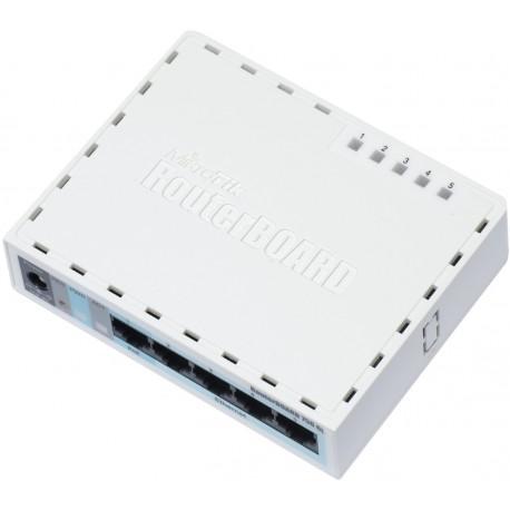 Mikrotik RB750GL Router 5 Port 10 100 1000 Lev.4