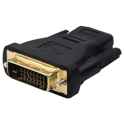 DVI-D Single Link Male to HDMI Female adapter