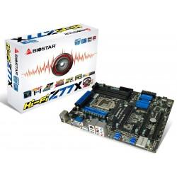 Biostar HI-FI Z77X AMPLIIER HI-FI LGA1155 Intel Z77 DDR3 Remote 50000