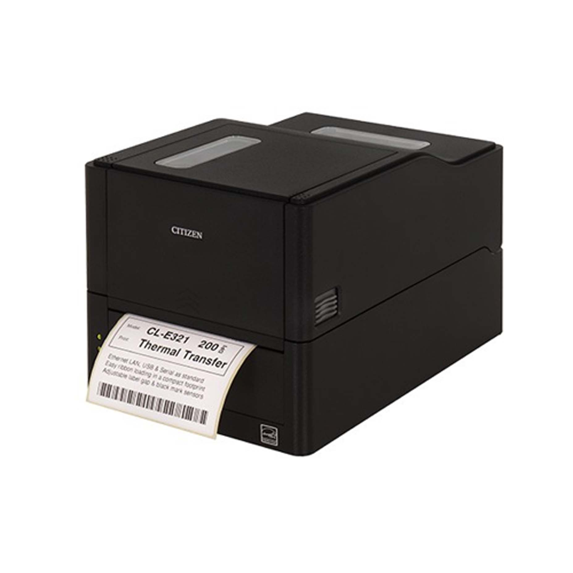 Harga Jual Citizen CL-E321 Label Barcode Printer 203 dpi USB Black