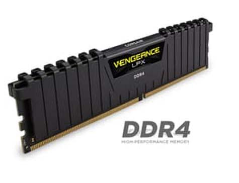 Harga Jual Corsair Vengeance LPX (1x4GB) DDR4 DRAM 2400MHz C14 Memory Kit-Black (CMK4GX4M1A2400C14)