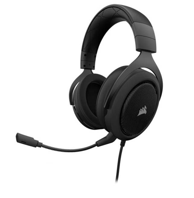 Harga Jual Corcair CA-9011173-AP HS60 SURROUND Gaming Headset-Carbon (AP)