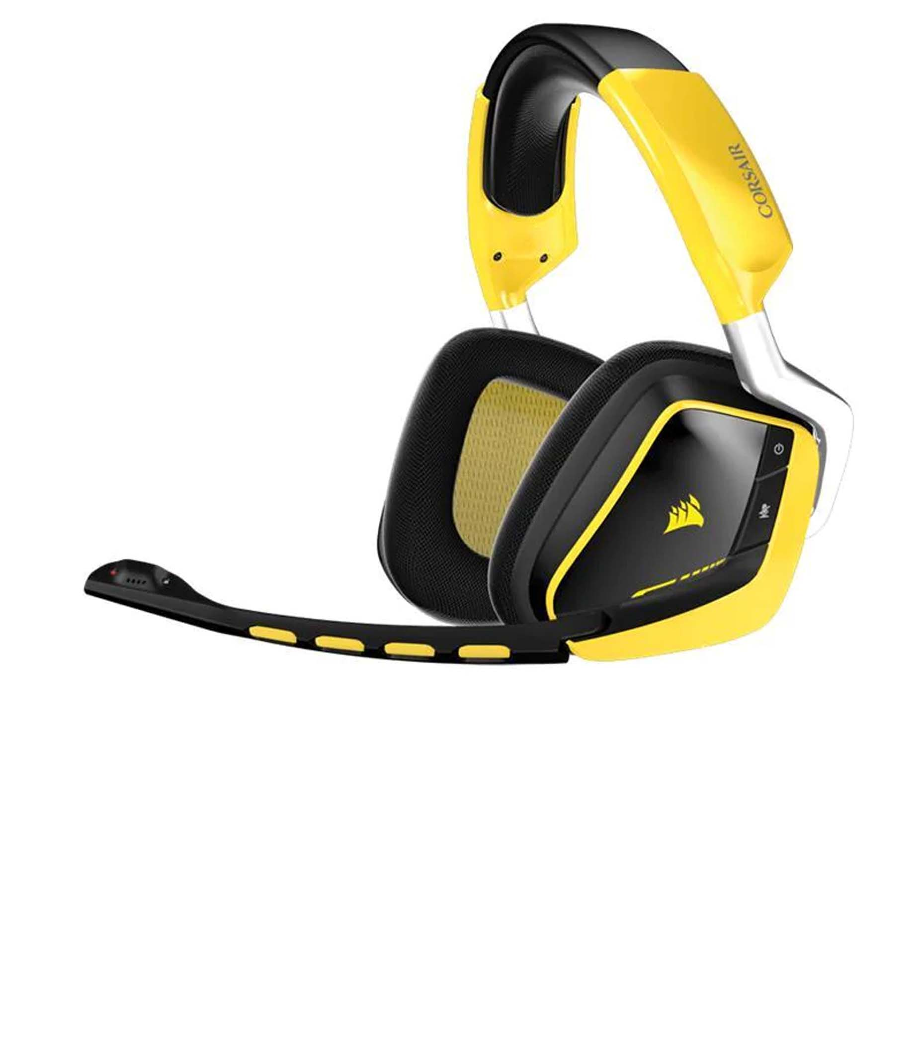 Harga Jual Corsair CA-9011150-AP VOID PRO RGB Wireless SE Premium Gaming Headset with Dolby Headphone 7-1-Yellow (AP)_1