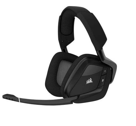 Harga Jual Corsair CA-9011152-AP VOID PRO RGB Wireless Premium Gaming Headset with Dolby Headphone 7-1-Carbon (AP)