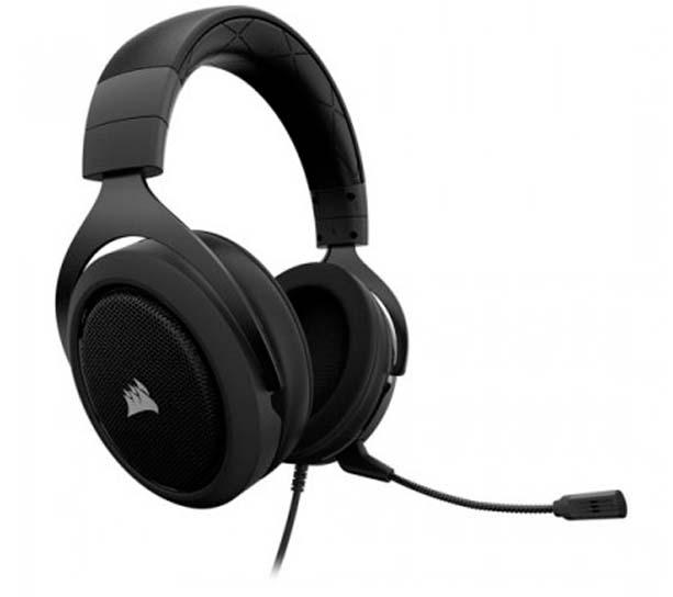 Harga Jual Corsair CA-9011170-EU HS50 Stereo Gaming Headset-Carbon (EU)