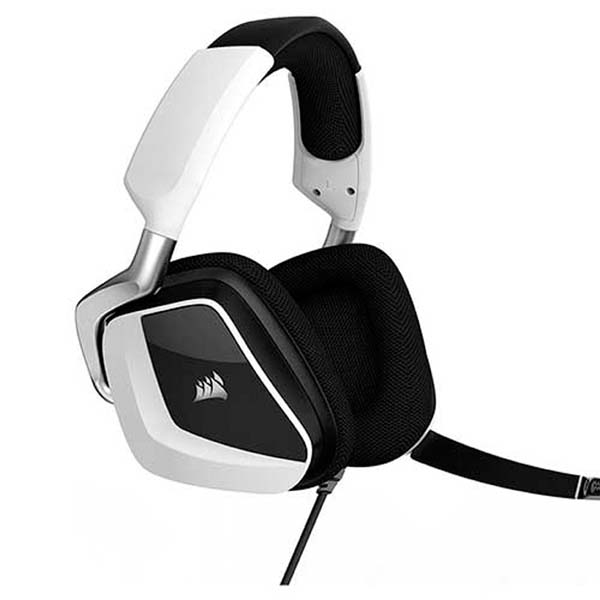 Harga Jual Corsair Corsair CA-9011155-NA VOID PRO RGB USB Premium Gaming Headset with Dolby Headphone 7-1-White