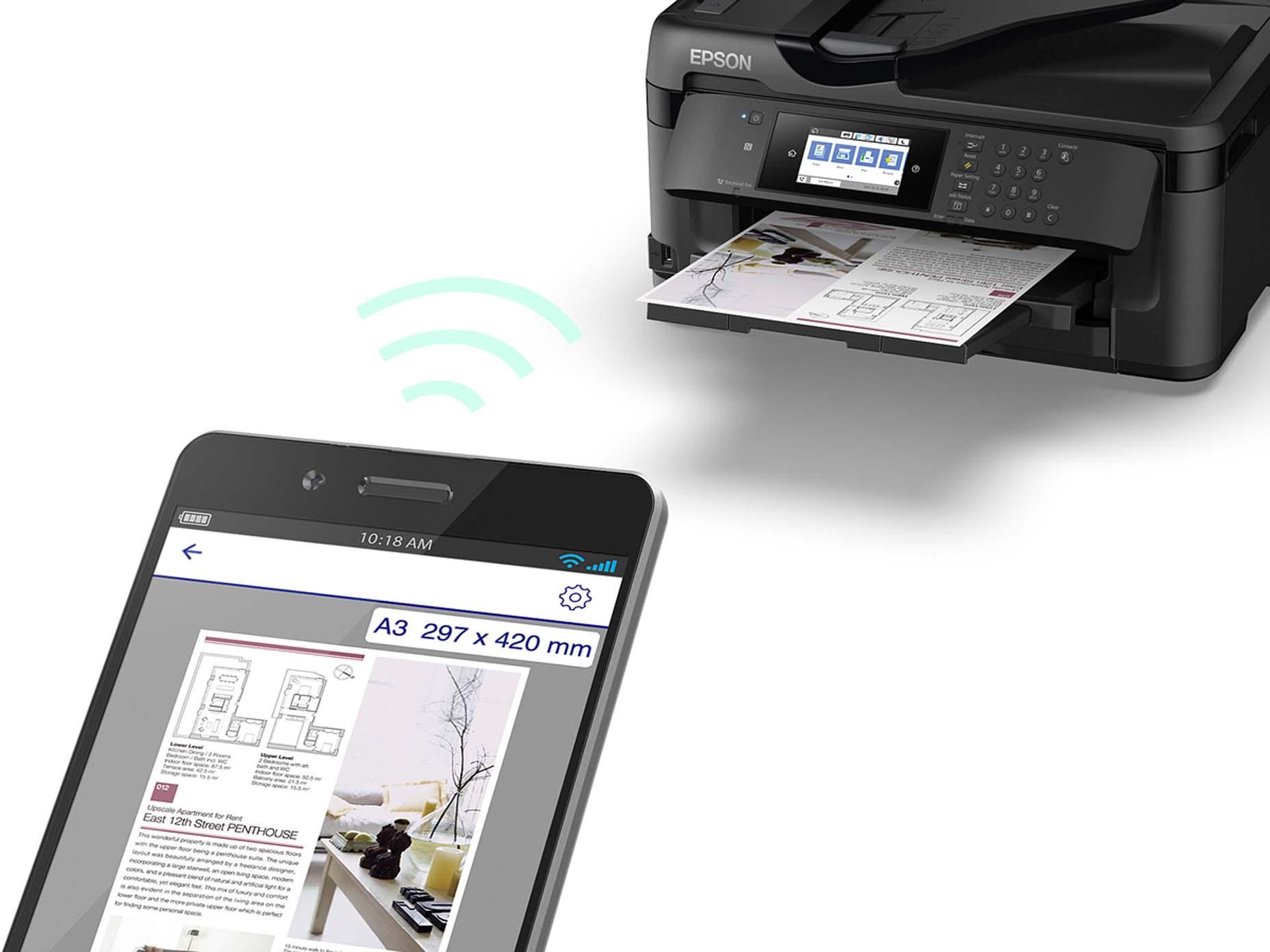 Harga Jual Epson Workforce Wf 7711 Printer A3