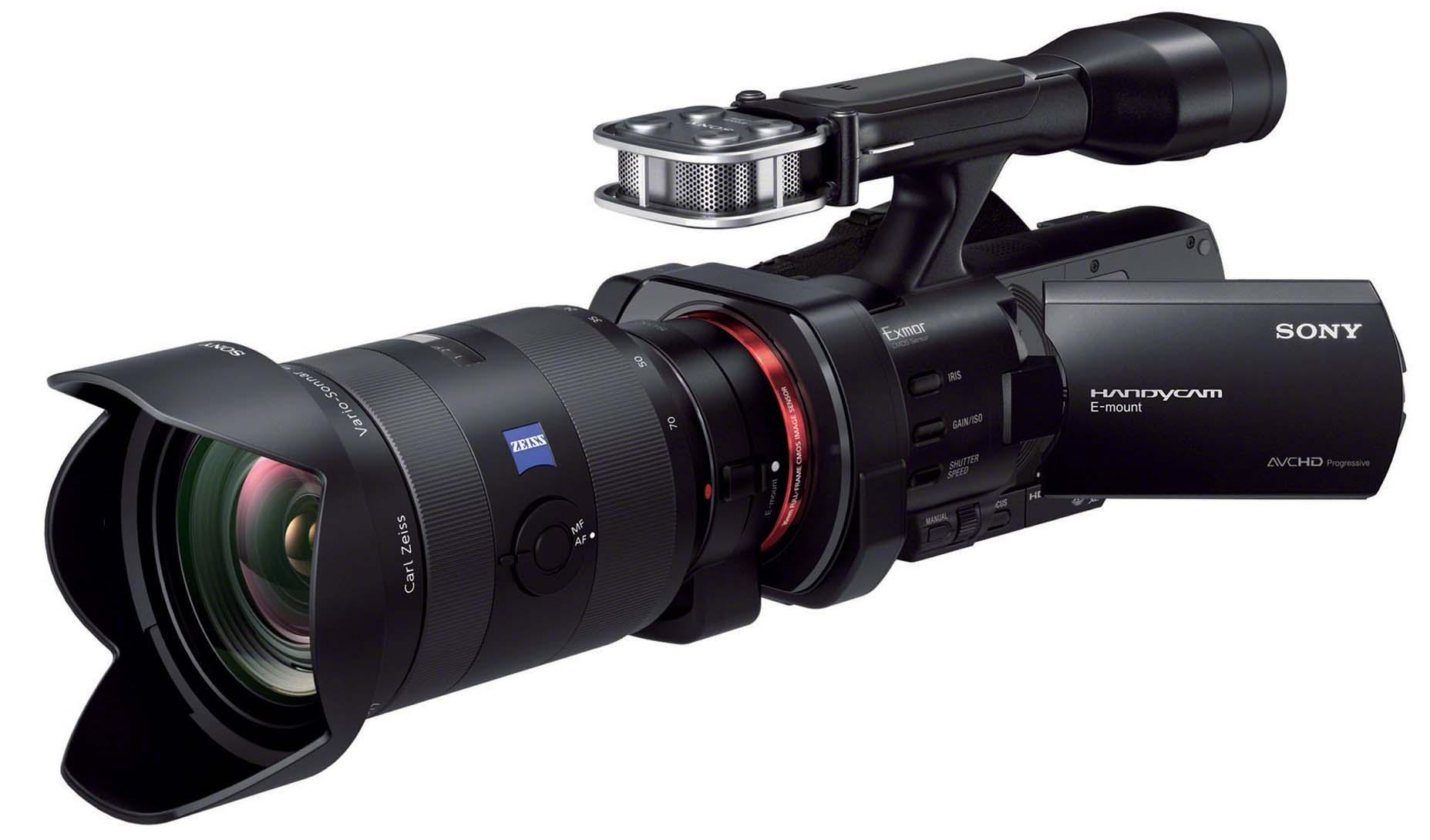Spesifikasi Handycam sony NEX-VG900E