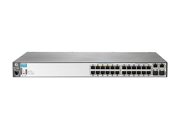 Harga HP 2620-24-PoE+ (J9625A) 24 Port Fast Ethernet Managed L3 Switch with PoE+