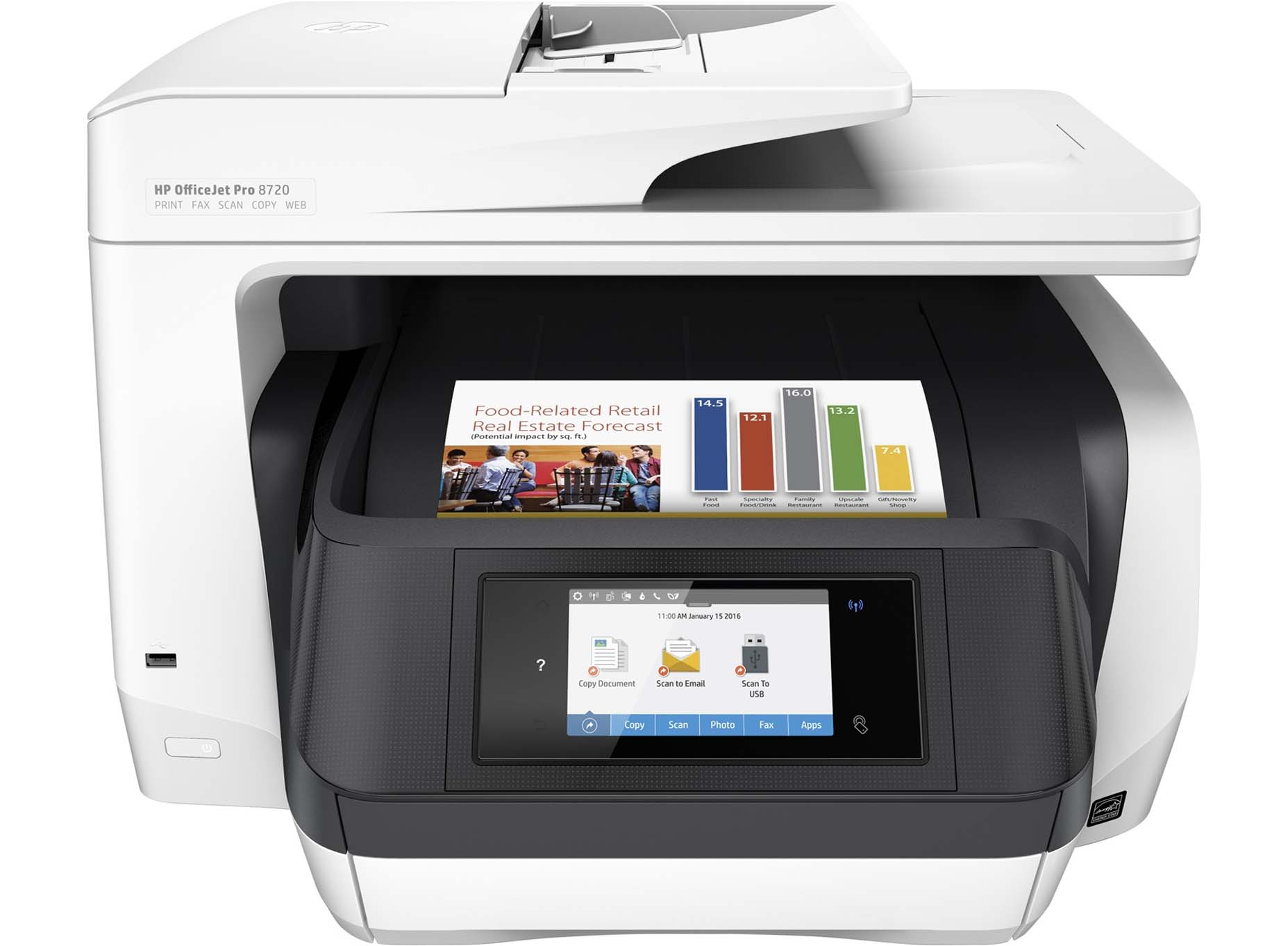 Harga HP Officejet Pro 8720 All-in-One [D9L19A]