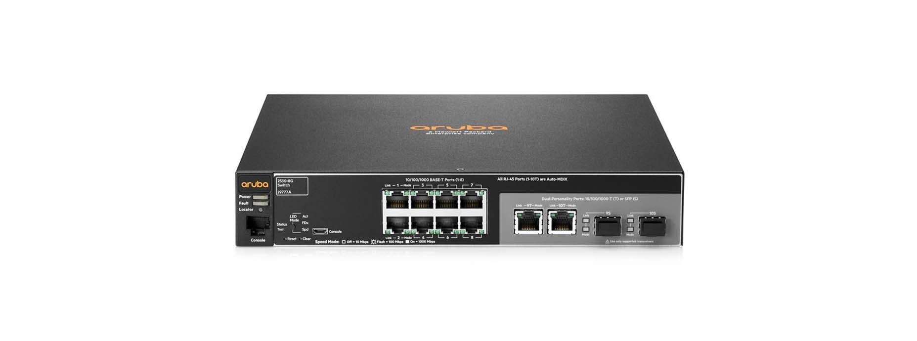 Harga HP Switch Managed Aruba 2530-8G (J9777A)