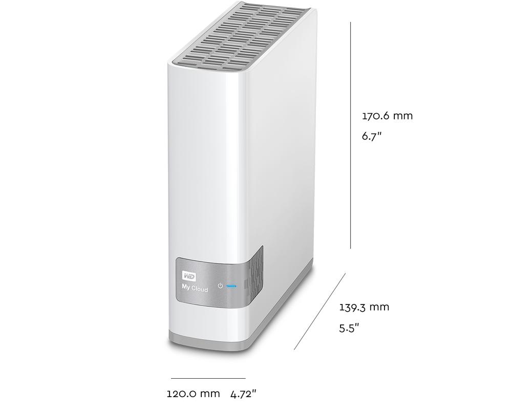 Harga WD 3TB My Cloud Personal Network Attached Storage (WDBCTL0030HWT)