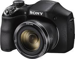 Harga Sony DSC-H300 Compact Camera 35x Zoom Optik
