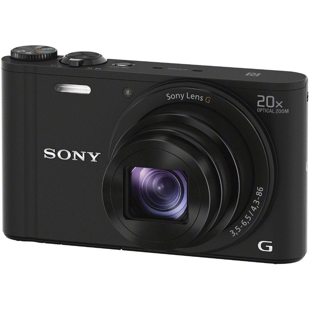 Harga Sony DSC-WX350 Compact Camera 20x Zoom Optik