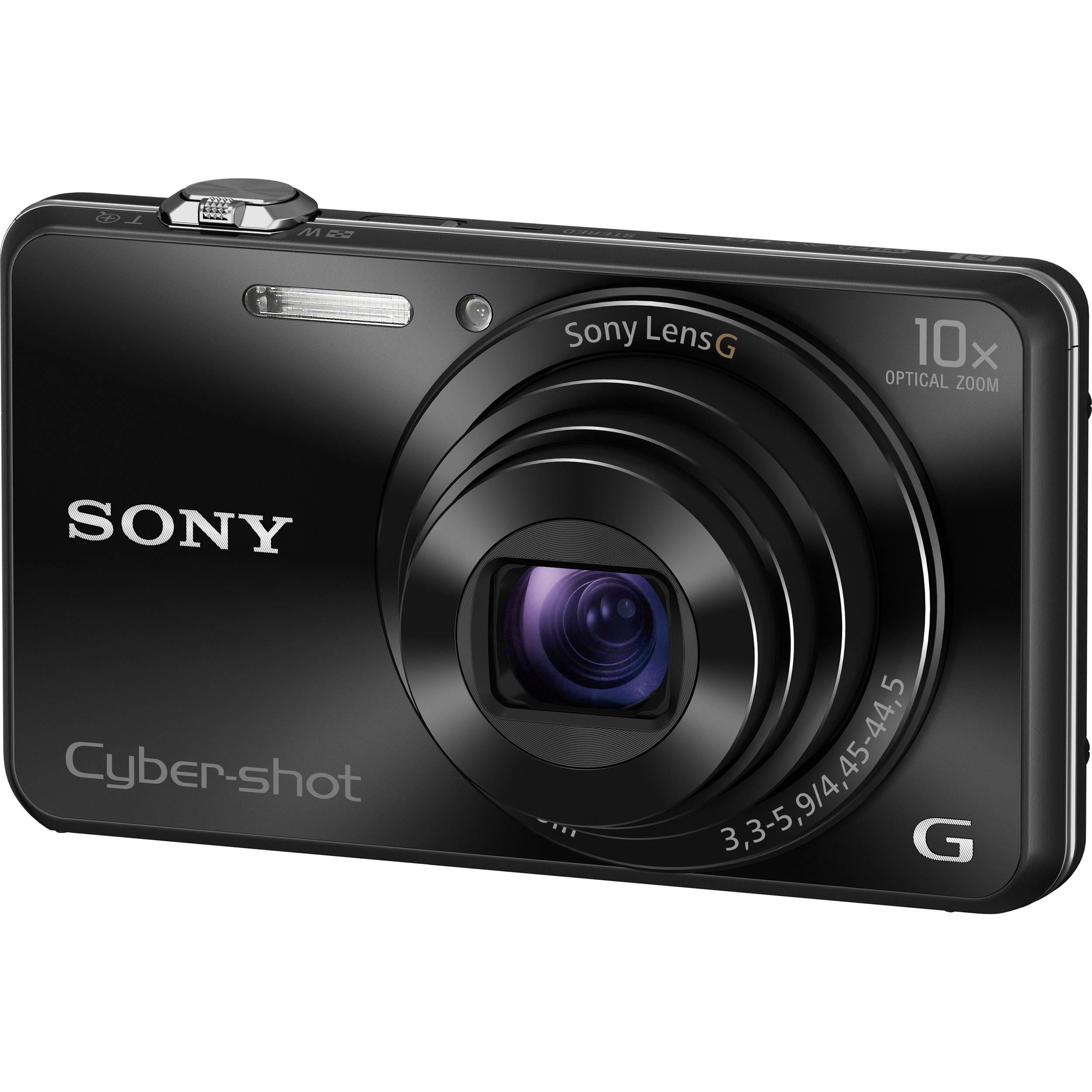 Harga Sony WX220 Compact Camera 10X Zoom Optik