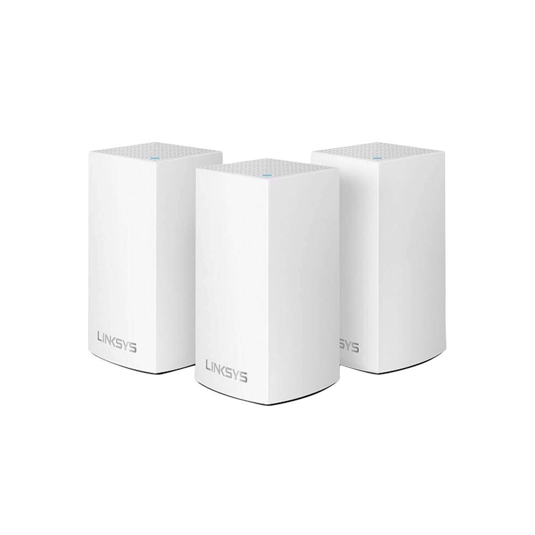 Harga Jual Linksys WHW0103-AH Velop Intelligent Mesh WiFi System 3-Pack White (AC3900)
