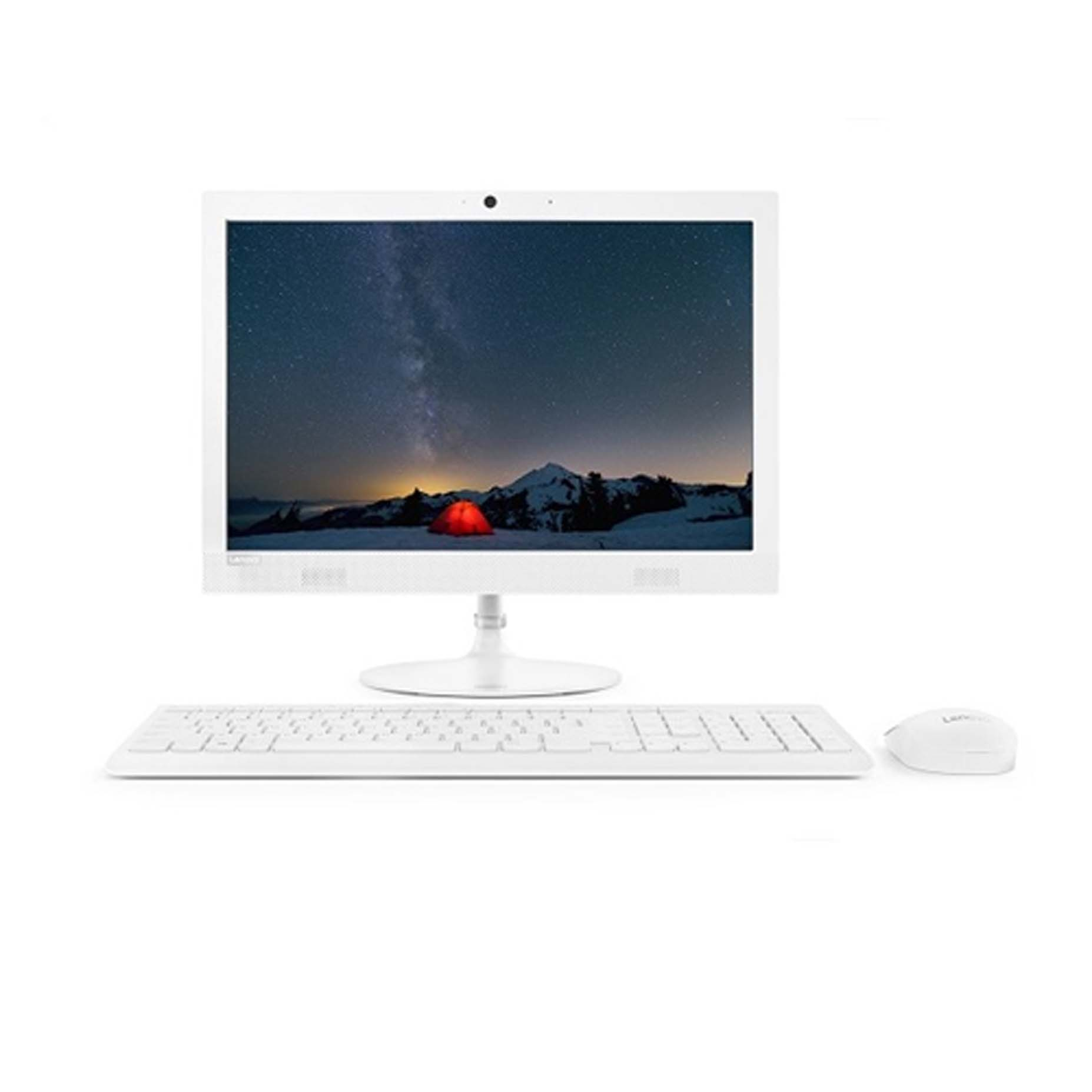 Harga Lenovo IdeaCentre 330-20AST 5AID All in One A4-9125 4GB 1TB Integrated DOS 19.5 Inch White