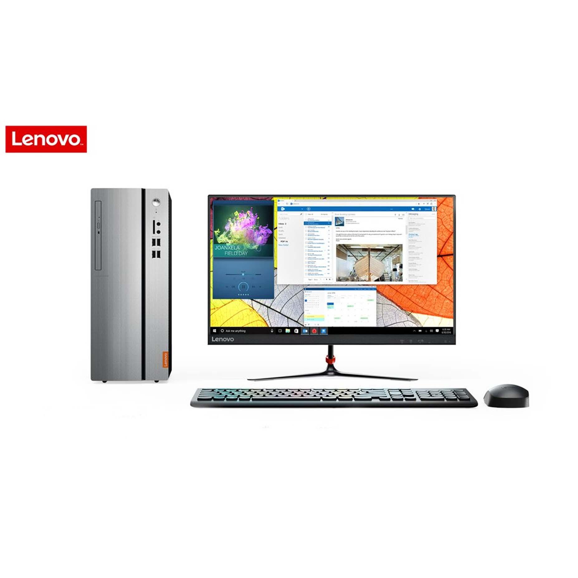 """Harga Lenovo Ideacentre IC510-15IKL NVID Dekstop PC i5-7400 4GB 2TB GT730 2GB DOS 21.5"""""""