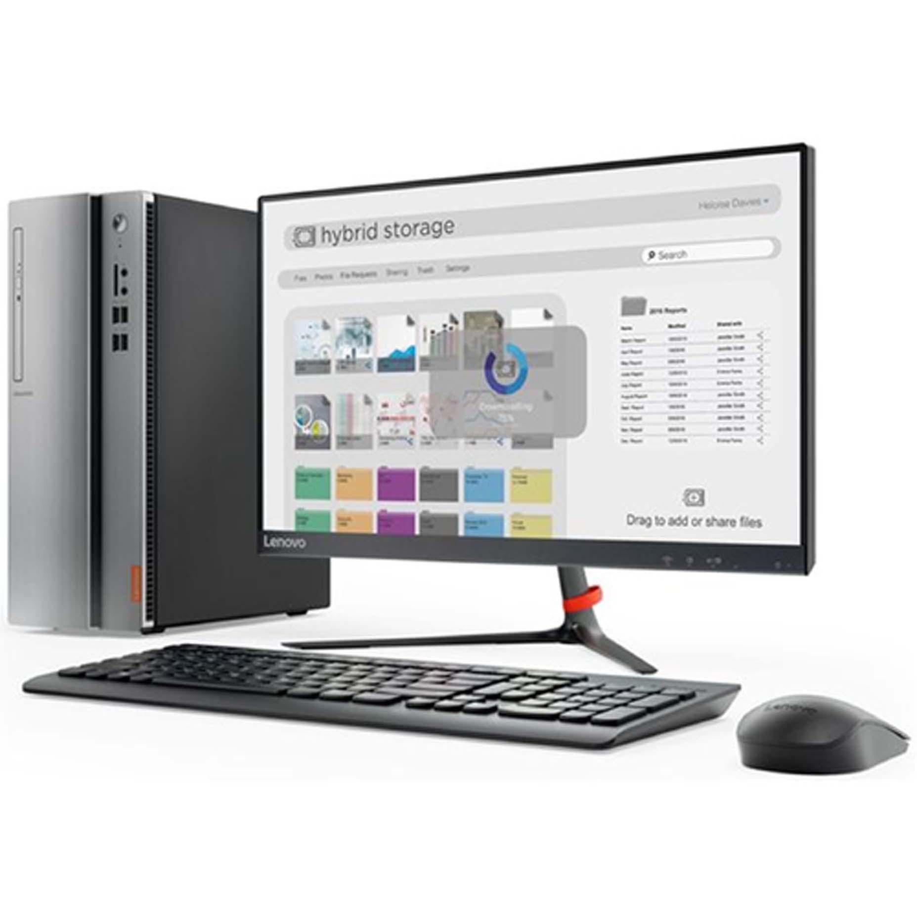"Harga Lenovo Ideacentre IC510S-08IKL E1ID Dekstop PC i3-7100 4GB 1TB Integrated Win10 21.5"""
