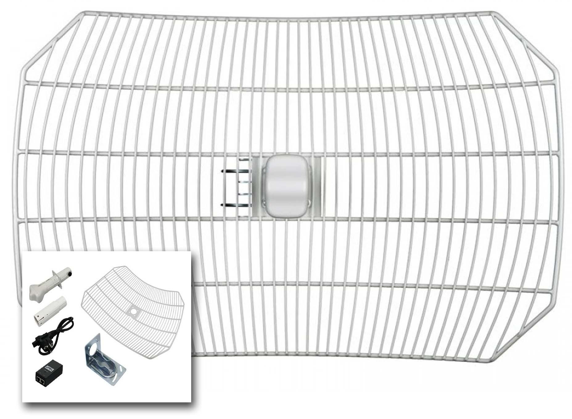 jual harga ubiquiti airgrid m5 23dbi antenna grid  m2