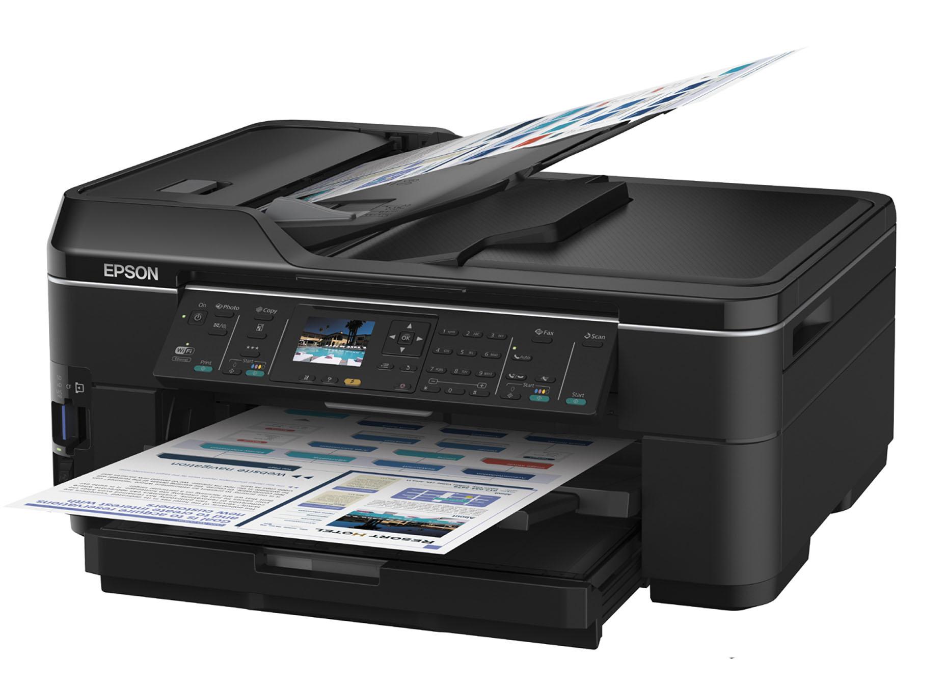 spesifikasi produk epson workforce wf 7511 printer a3 inkjet