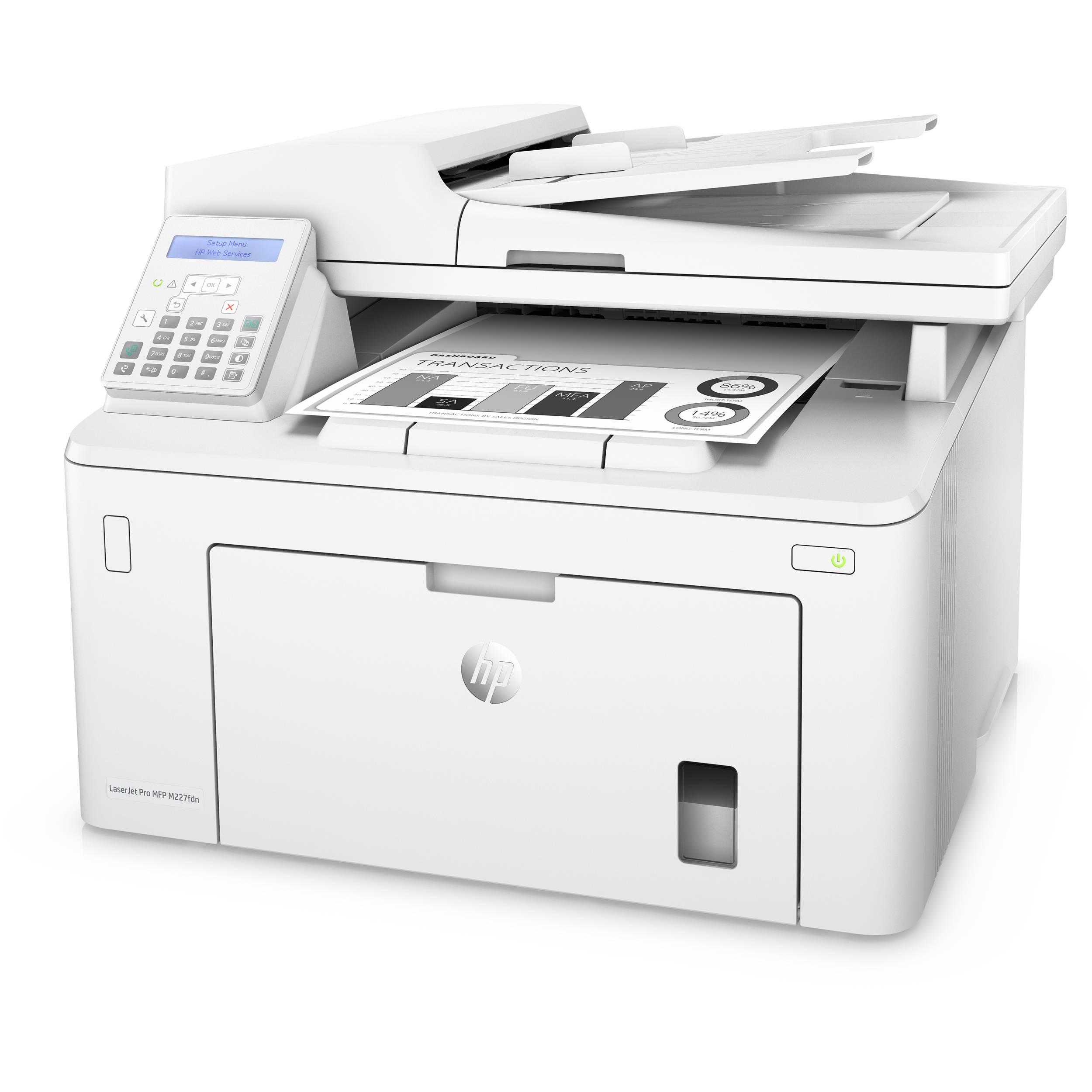 Jual Harga HP LaserJet Pro MFP M227fdn (G3Q79A)