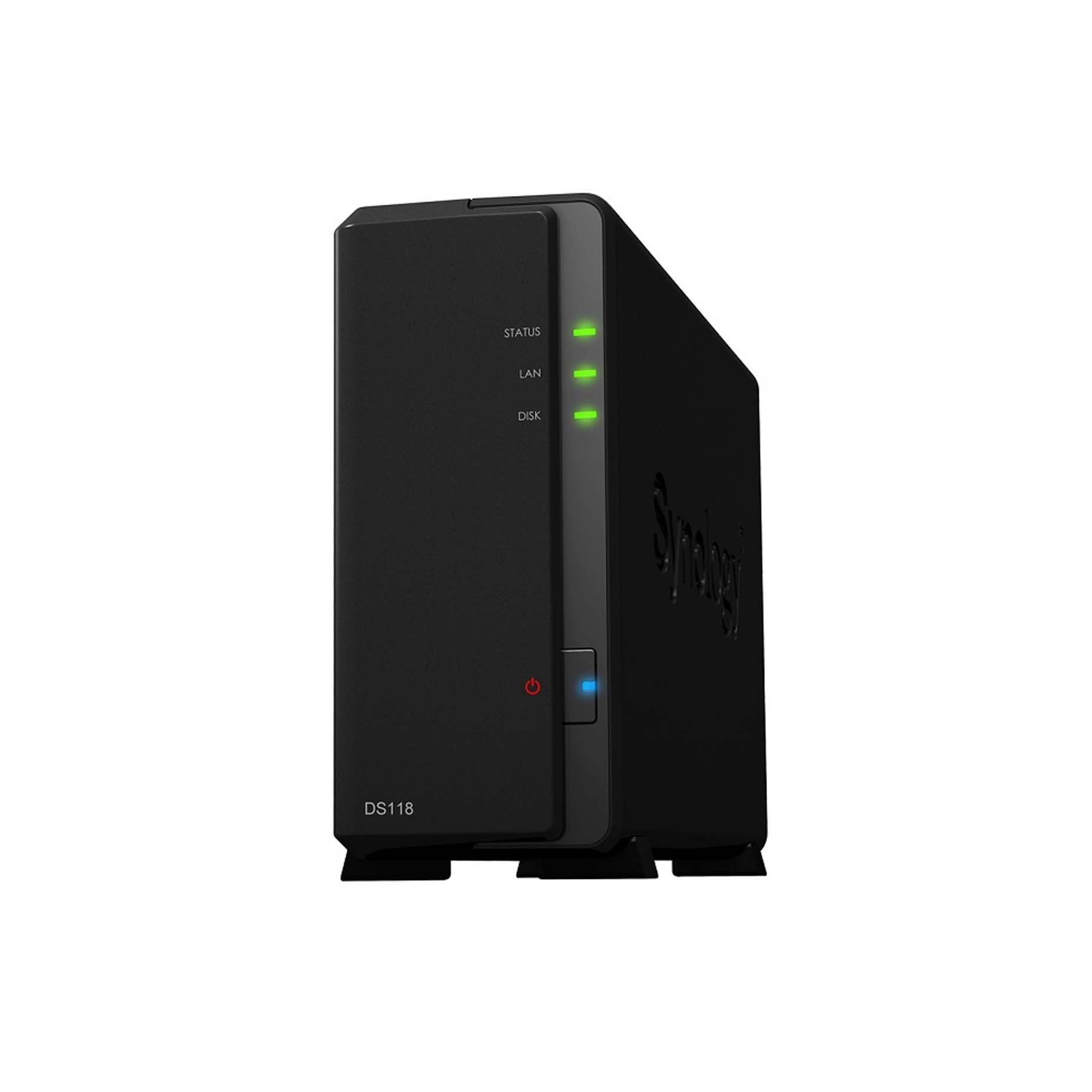 Harga Jual Synology DiskStation DS118 1-bay NAS High-performance