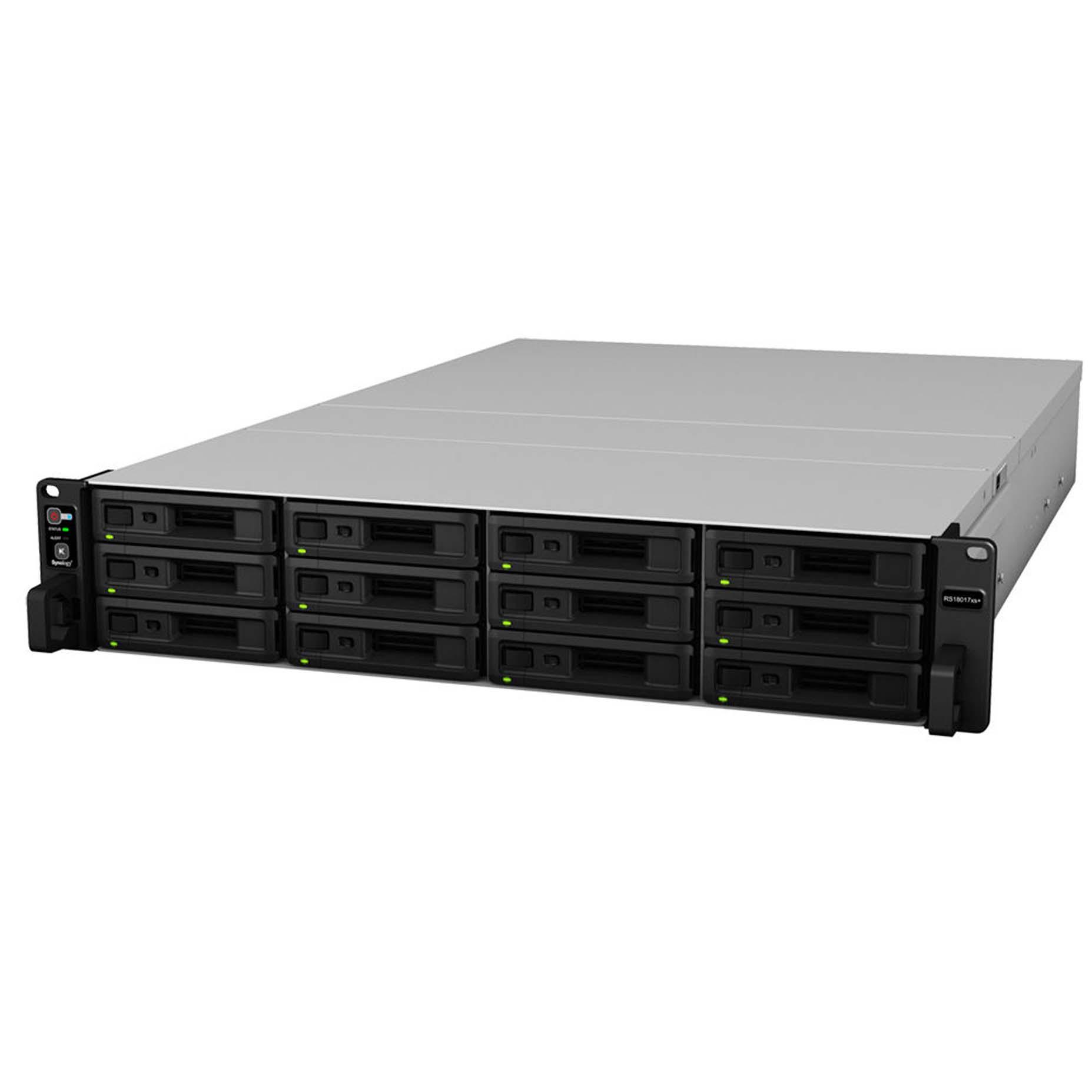 Harga Jual Synology RackStation RS18017xs+ 12 Bay NAS Storage