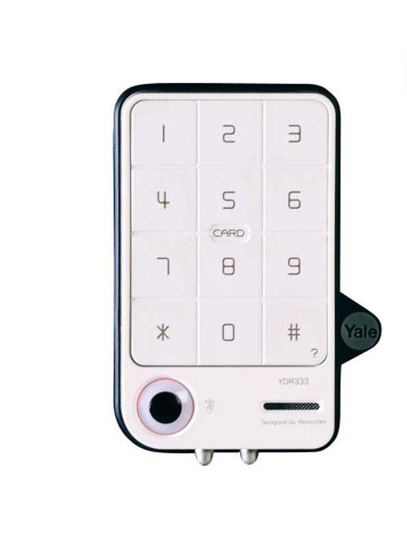 Harga Jual Yale YDR333 Card Keypad Digital Door Lock